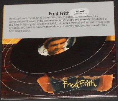 FRED FRITH cheap at half the price UK CD new sealed HENRY COW art bears MASSACRE - Half Price Cd