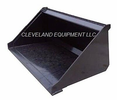 New 48 Mini Low Profile Bucket For Bobcat Skid Steer Track Loader Attachment 4