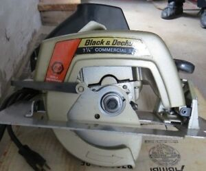 Brand New Black & Decker 7 1/4 inch Commercial Saw