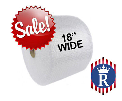 18 Wide 316 X 300 Ft Bubble Roll Small Bubbles 450 Sqft Cushion Wrap