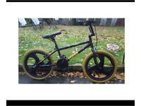 BMX bike with mag wheels