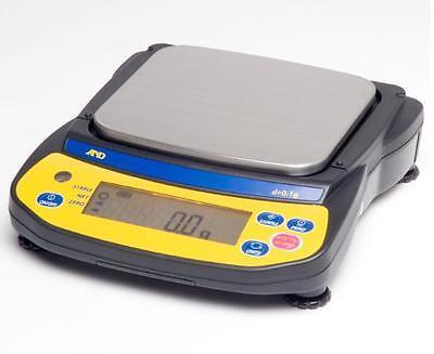 Ad Ej-6100 Precision Compact Lab Balance 6100x0.1gjewelry Scalepan 5x5.5new