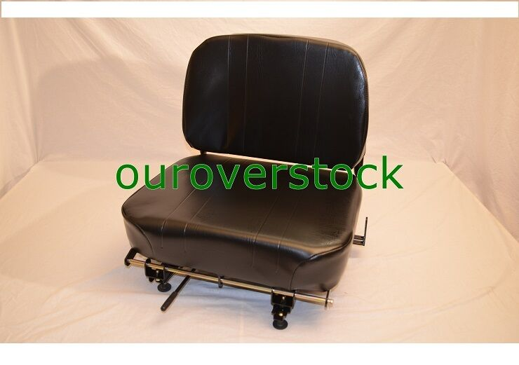 Wise Vinyl HInged Back Fork Truck Seat (Yale, Hyster, Toyota, TCM, Cat)