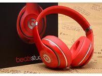 Beats Studio Headphones Red