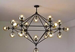 21 GLOBE light chandelier