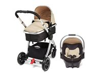 Good as new Mothercare Pram and Travel Seat, less than a year old