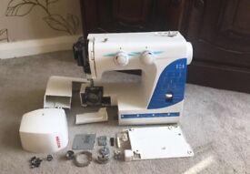 Necchi Sewing Machine Model 215A-B-BS - Spares/Repairs