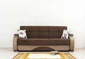 💥💥OTTOMAN STYLE BRAND NEW GAMA SOFA BED TURKISH MADE & FREE CUSHIONS