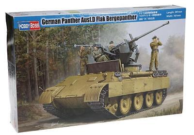 HOBBYBOSS® 82492 WWII German Panther Ausf.D Flak Bergepanther in 1:35