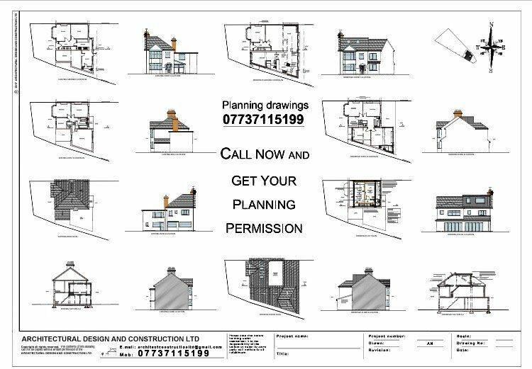 Architectural Services, Planning Permission, Building Control