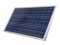 KIT PRO 200W COMPLETE: Photovoltaic panel with 15A MTTP controller with digital screen