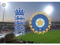 *England v India - Lords - 2 Tickets