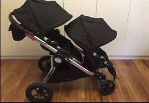 City select baby jogger twin in excellent condition Broadbeach Gold Coast City Preview