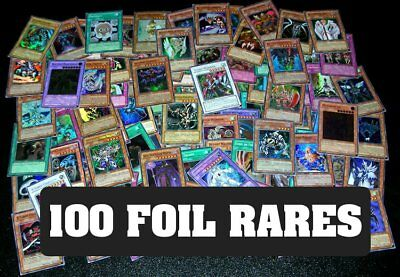 100 YUGIOH FOIL RARE HOLO CARDS COLLECTION! FOILS ONLY!