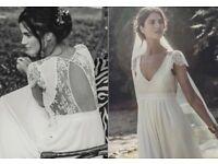 Laure de Sagazan, (Alan) Wedding dress. Size 10