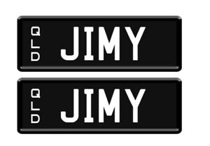 JIMY Qld personalised number plates