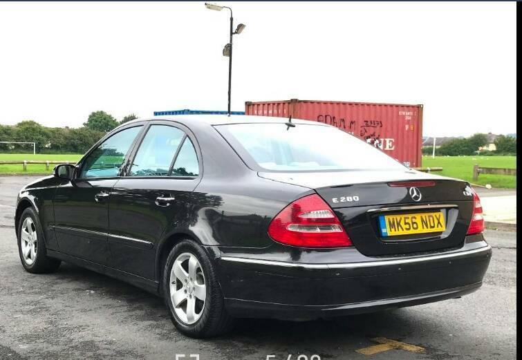 Automatic Mercedes-Benz class e280 5dr saloon low mileage full leather