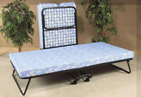 HIGH QUALITY COTS ($199) AND BED FRAMES ($49) ONLY