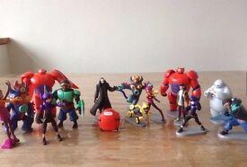 Disney Big Hero 6 figures all in excellent condition
