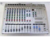 P.A Soundlab G742 mixer amp with speakers leads and large flight case £165