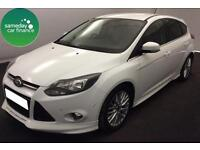 £176.26 PER MONTH 2010 FORD FOCUS 1.0 ECOBOOST ZETEC S MANUAL PETROL 5 DOOR