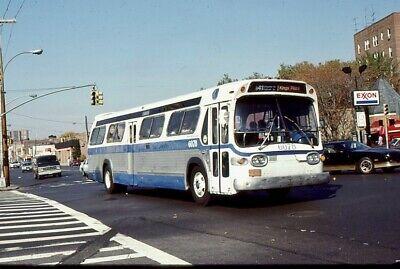 Original Slide of NYCTA 1971 GM #6078 Route B41 Flatbush Ave1987 SKY IS LIGHTER