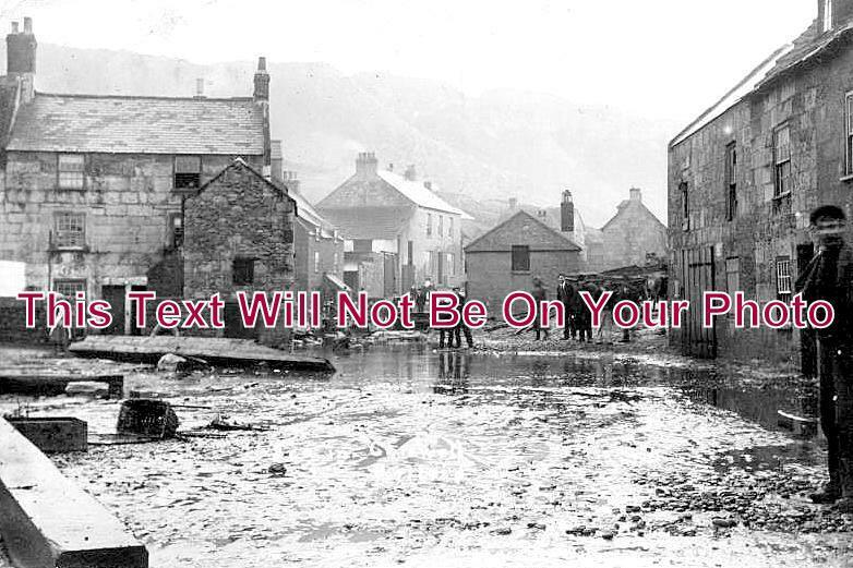 DO 1055 - Flooding At Chiswell Portland, Dorset 1906