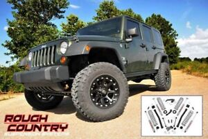 Ens. de Susp Rough Country 3.5'' Jeep Wrangler Unlimited 07-18