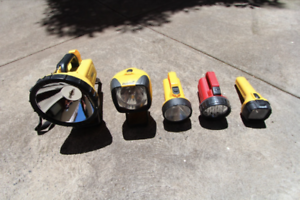 ~RRP $150~ COMBO 5x Torches Flashlight Worklight Hand Held Light St Kilda East Glen Eira Area Preview