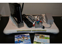 Nintendo Wii. Wii Fit Board, Games