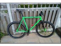Single speed road bike - size L/XL