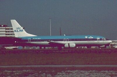 Aircraft Slide / Dia : B737-4  ,   KLM  ,  PH=BDY