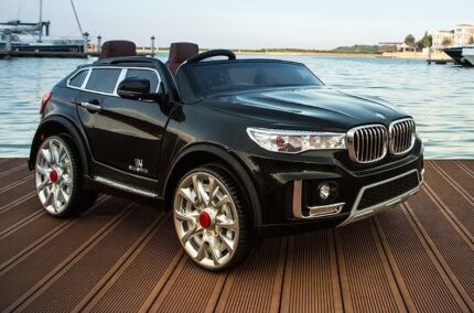 BMW X6 Style 2 seater kids ride on car with leather seats Cartwright Liverpool Area Preview