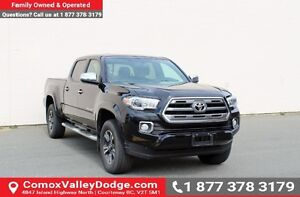 2016 Toyota Tacoma Limited LOW KMS, ONE OWNER, NAV, BACK UP C...