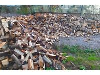 SEASONED LOGS FOR SALE - FREE DELIVERY