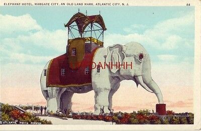 Elephant Hotel  Margate City  An Old Land Mark  Atlantic City  N J