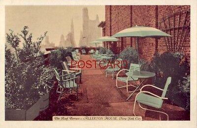 1944 ALLERTON HOUSE - Rooftop Terrace - NEW YORK CITY