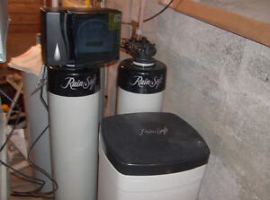 Rain Soft Water Softener and Treatment - Complete Set for Sale