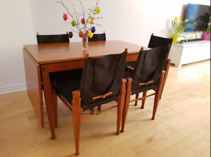 Table A Manger 5 Chaises Extendable Dining