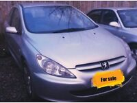 Peugeot 307 1.4 16v for sale or spares and repairs