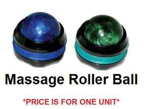 MASSAGE ROLLER BALL Harmony Massage Roller! Muscle Aches, Pain & Stress Relief!