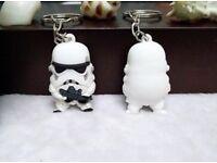 Star Wars Stormtrooper keyring BN