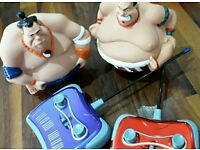Sumo Wrestling remote control set
