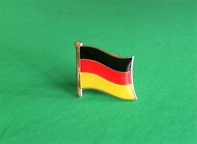 Germany German Flag Pin Badge Tie Tack! Brand New Europe European