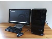Advent PC + 20 inch monitor + keyboard + mouse