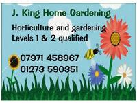 HOME GARDENING. Saltdean (East Sussex)