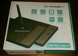 huion usb pen tablet artist graphic drawing tablet pad