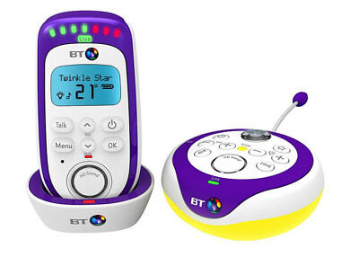 Brand new BT 350 digital baby monitor with built in light show & 18 lullabies