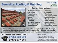 Bennett's Roofing & Building - FREE QUOTES - We cover North Wales, Cheshire, Wirral & Liverpool