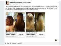 HAIR EXTENSIONS BY PEARL. THE BEST VALUE FOR MONEY, ALWAYS.